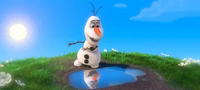 Watch Happy Snowman GIF on Gfycat. Discover more disney, frozen, in summer, music, olaf, peachpenguin, snowman, song GIFs on Gfycat