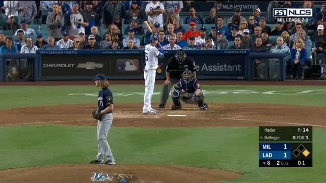 Watch and share Los Angeles Dodgers GIFs and Milwaukee Brewers GIFs on Gfycat