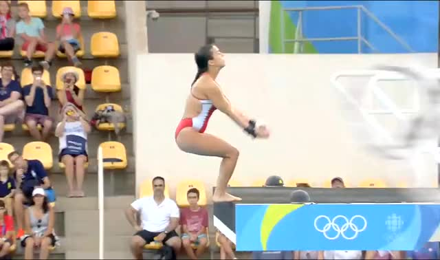 Watch and share Canadian Diver Meaghan Benfeito (Lots MIC) (reddit) GIFs by cortgarbage on Gfycat