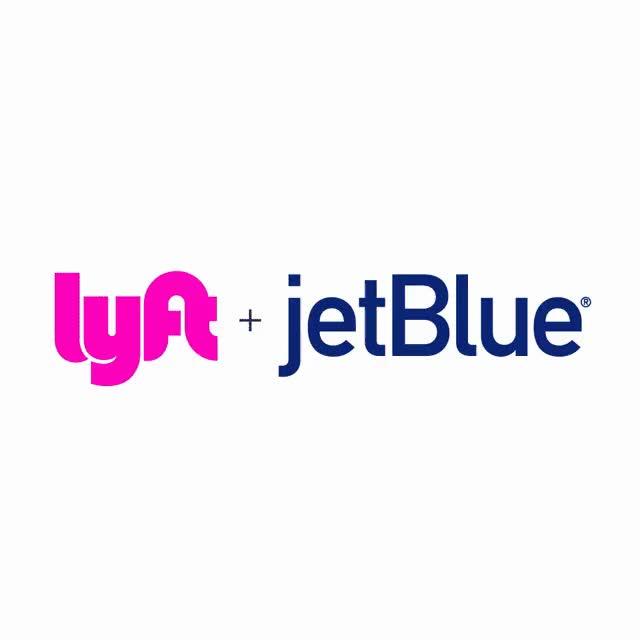 Watch and share Lyft Logo And JetBlue Logo GIFs on Gfycat