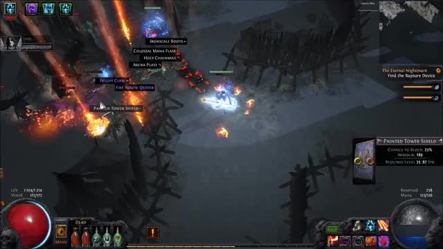 Watch and share Vaal Corpse Explosion HC GIFs by Anton Lidas Lidholm on Gfycat