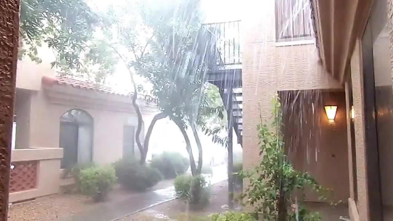 Phoenix Arizona Monsoon rain  Summer of 2014 (reddit) GIFs