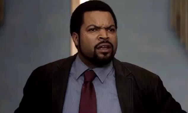 21, Ice Cube, angry, captain, funny, jump, street, yell, yelling, Funniest angry face GIFs