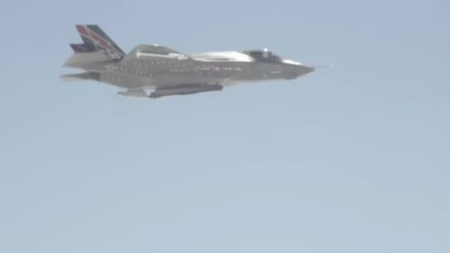 Watch and share F-35A Launches Its First AIM-120 AMRAAM (reddit) GIFs on Gfycat
