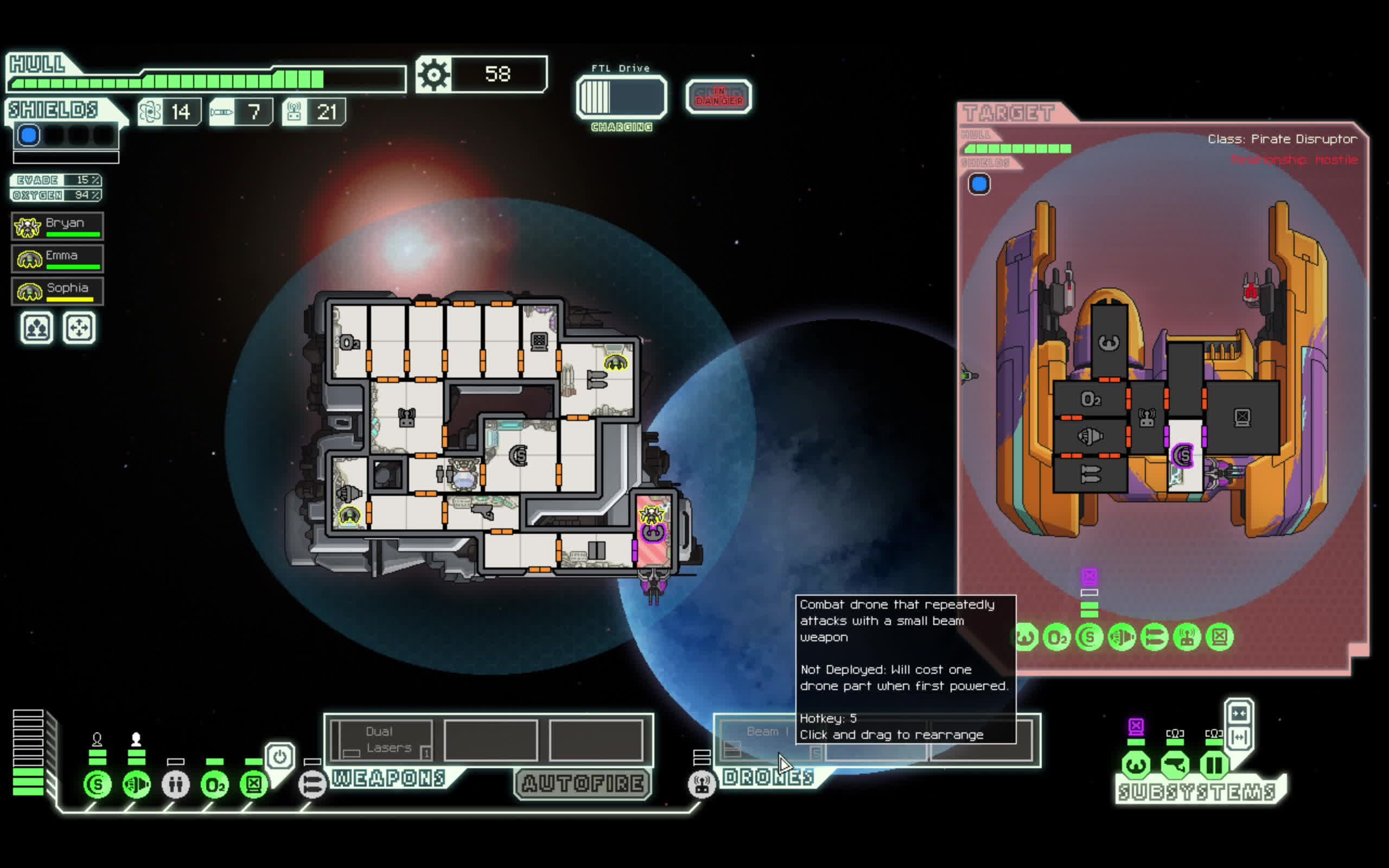 ftlgame, Defense drone glitch GIFs