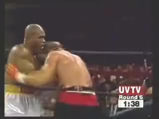 Watch Morrison vicious left hook GIF on Gfycat. Discover more Razor Ruddock, Tommy Morrison GIFs on Gfycat