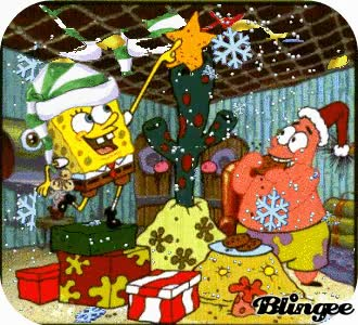 Watch and share Spongebob Spongebob Christmas GIFs on Gfycat