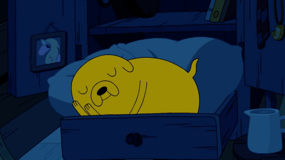 adventure, asleep, bed, buenas, dream, go, good, goodnight, night, nite, noches, siesta, sleep, sleepy, snor, time, tired, to, yawn, zzz, Adventure time - Sleepy GIFs
