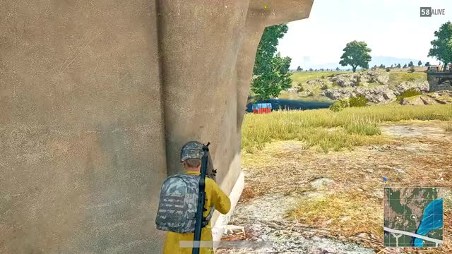 Watch He thought he was safe GIF by Beep Boop (@hockeyrobotthing) on Gfycat. Discover more Battlegrounds, PUBATTLEGOUNDS, PUBG GIFs on Gfycat