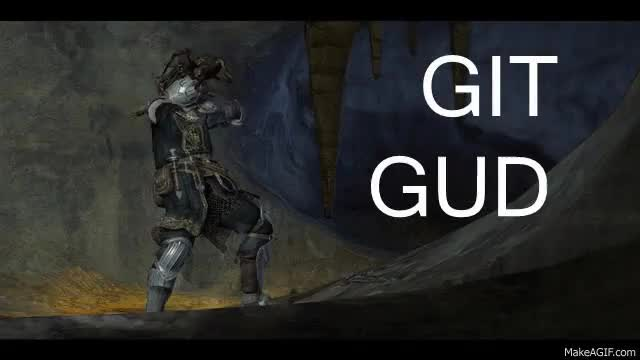 "Watch and share Dark Souls (1,2, And 3) When Do You ""Git Gud""? · AliFunny GIFs on Gfycat"