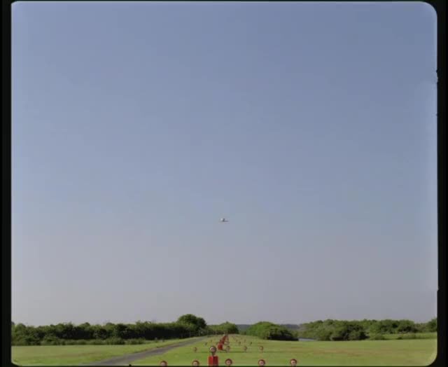 Watch and share Engineering Footage - Space Shuttle Landing GIFs on Gfycat