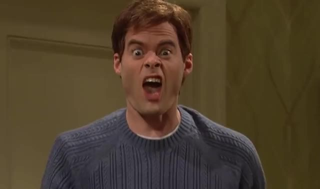 Watch and share Bill Hader GIFs by Reactions on Gfycat