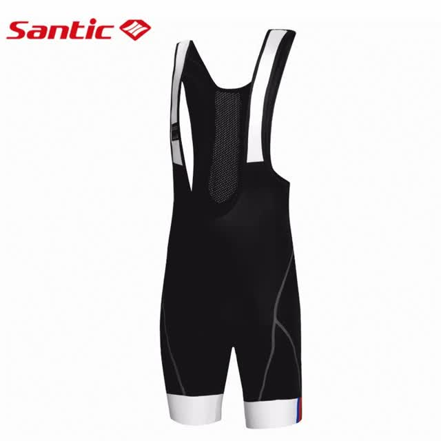 Watch and share Santic Font Men Font Padded Gel Cycling Bib Shorts Riding Bib Road Bicycle GIFs on Gfycat