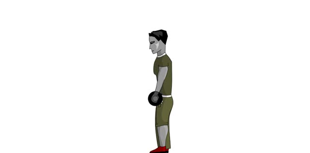 Watch and share Reverse Barbell Curl - Forearms & Biceps GIFs on Gfycat
