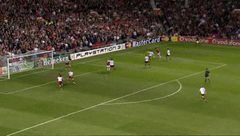 Watch and share Michael Carrick. MU - Roma. 10.04.2007 - 2 GIFs by fatalali on Gfycat