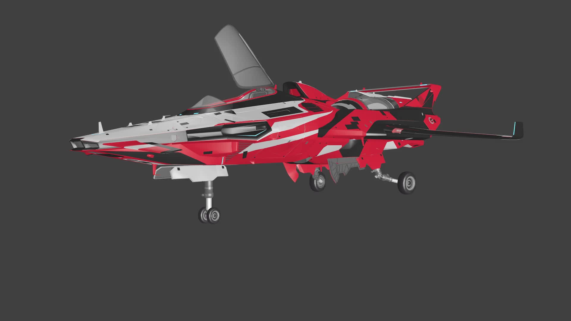 starcitizen, My Attempt at Animating an M50 Model (reddit) GIFs