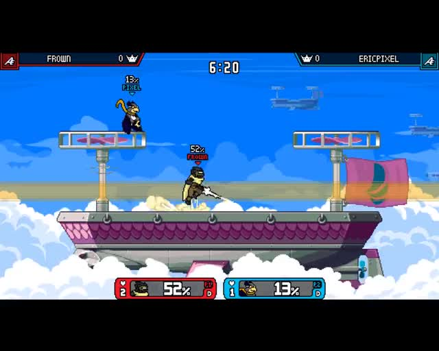 Watch and share Rivals Of Aether GIFs and Clairen GIFs on Gfycat