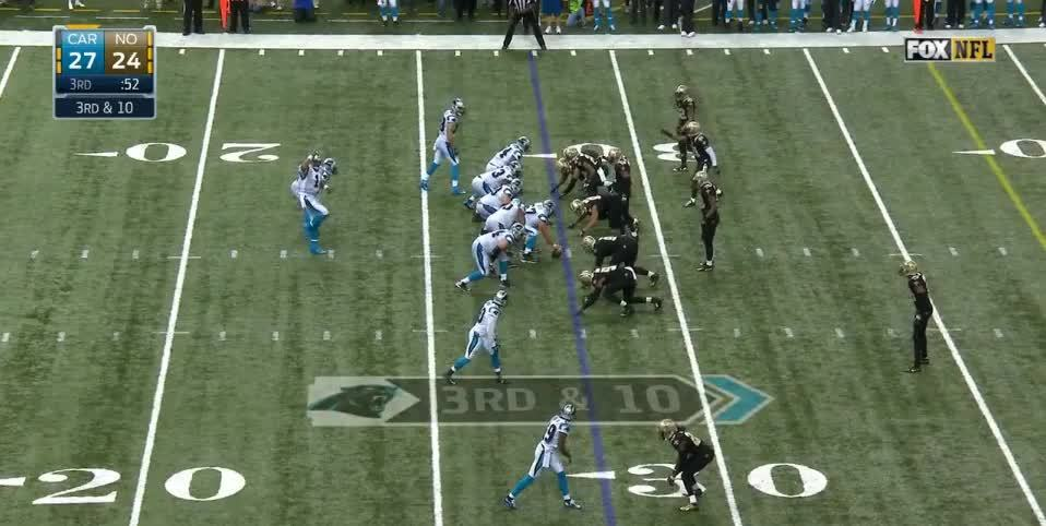 panthers, Cam overthrows Philly GIFs