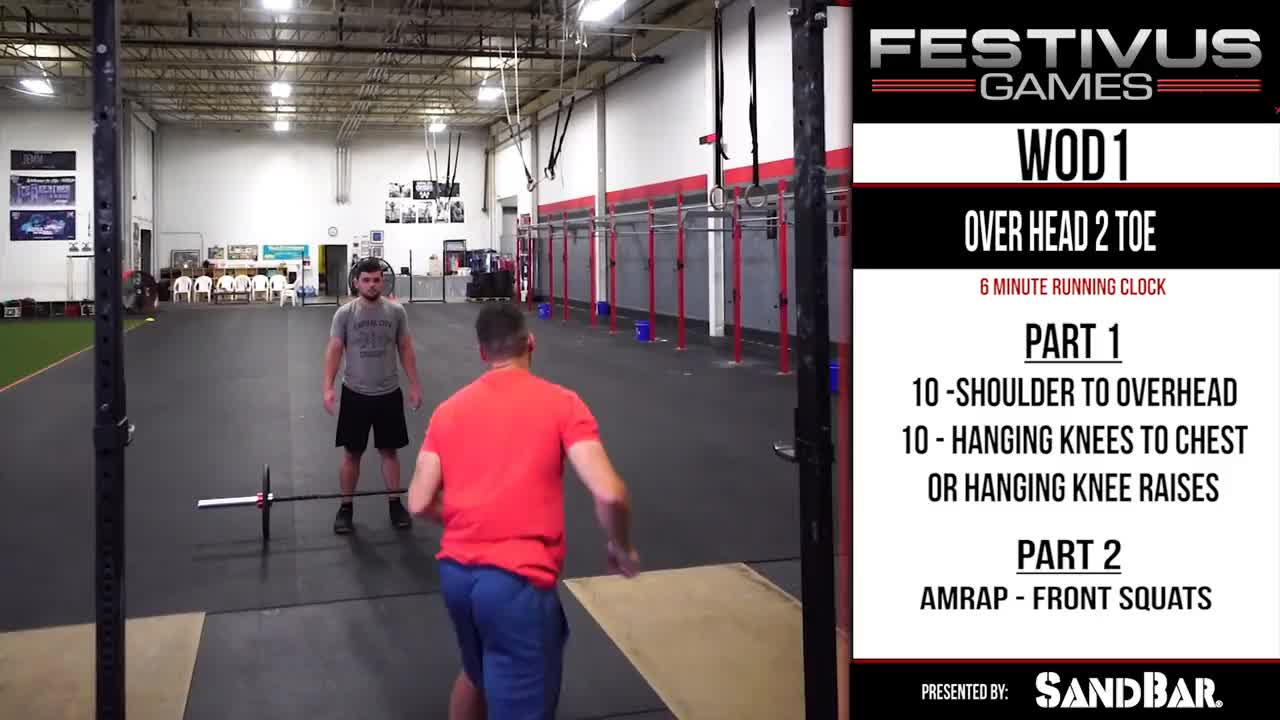 crossfit, festivus, Festivus Games October 2018 WOD Standards GIFs