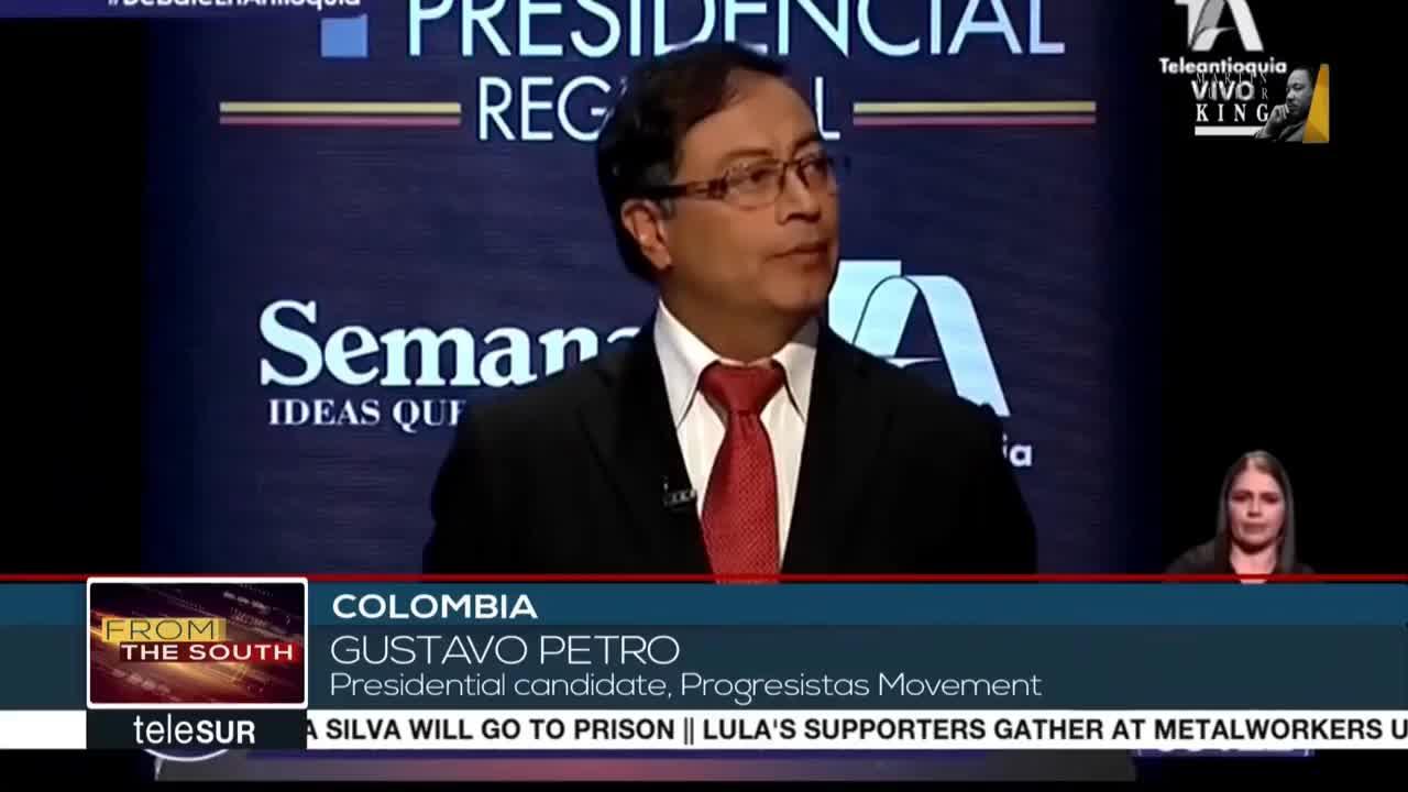 colombia, noticia, pol, tica, Colombia Presidential Debate GIFs