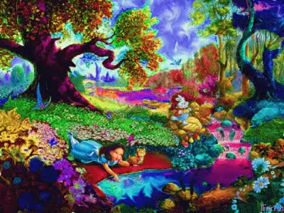 Watch and share Alice In Wonderland [GIF] GIFs on Gfycat