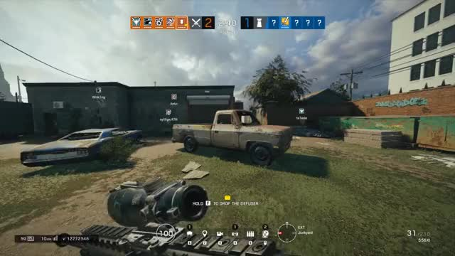 Watch and share Rainbow6 GIFs and Siege GIFs by doctorduckman on Gfycat
