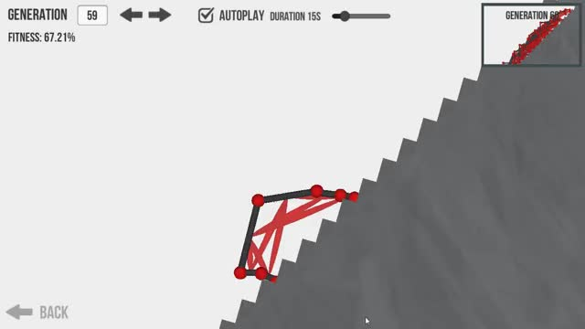 Watch and share Evolution - Design A Creature And Watch It Evolve Using A Genetic Algorithm. (reddit) GIFs on Gfycat