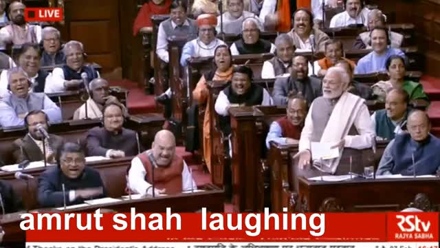 Watch Modi ने Renuka Chaudhari की तुलना Ramayan के राक्षसों से की तो ठहाकों से गूंजा पूरा सदन GIF on Gfycat. Discover more Budget session, Lok Sabha, Modi in Parliament, Narendra Modi, Narendra Modi speech live, PM Modi, PM Modi in Parliament, Parliament of India, Rajya Sabha, live updates GIFs on Gfycat
