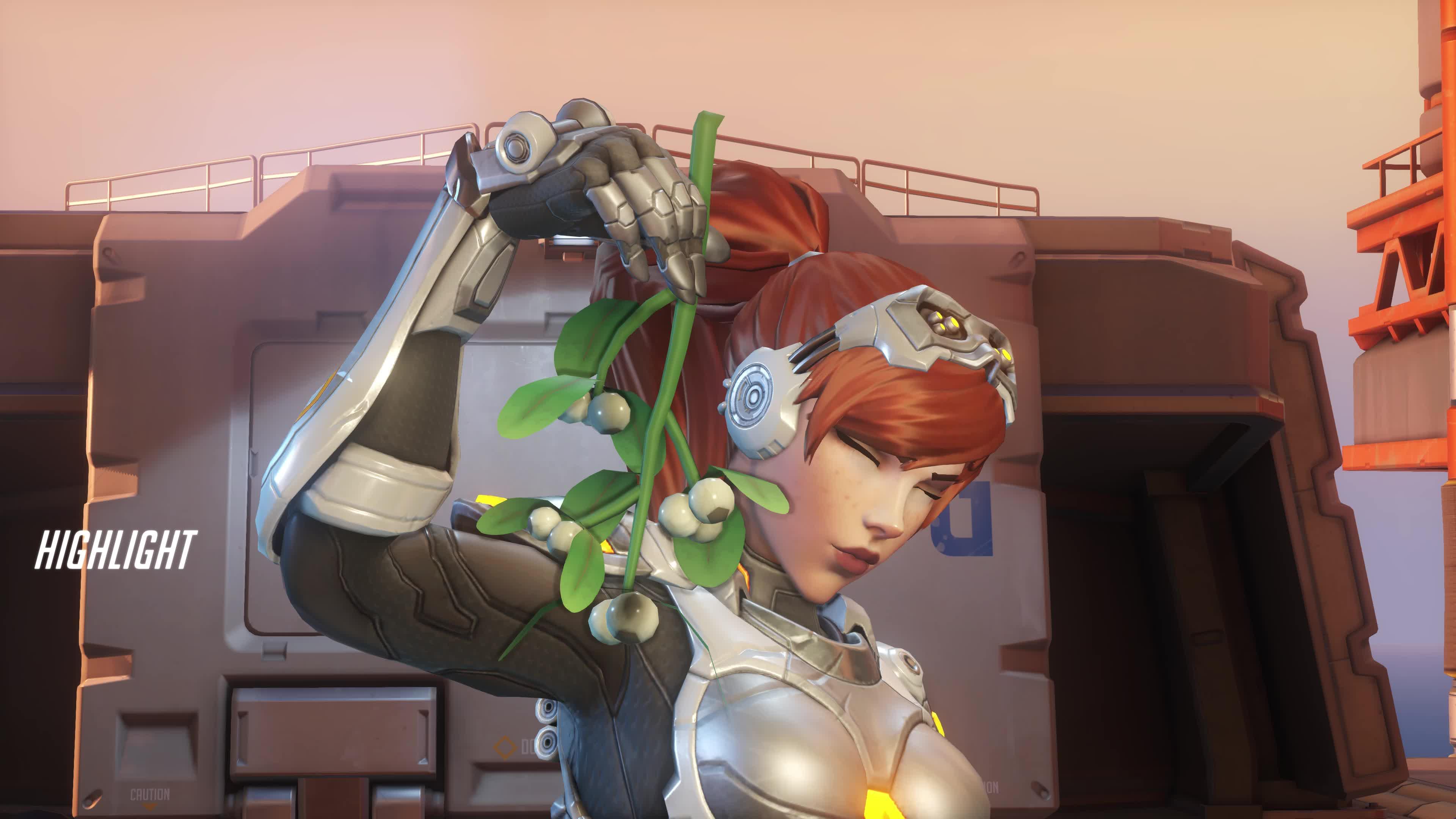 highlight, overwatch, widowmaker, Widow kills genji GIFs