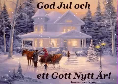 Watch and share Sueco God Jul GIFs on Gfycat
