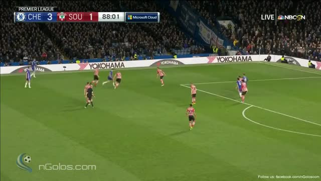 Watch and share (www.nGolos.com) Chelsea 4-1 Southampton - Diego Costa 89' GIFs on Gfycat