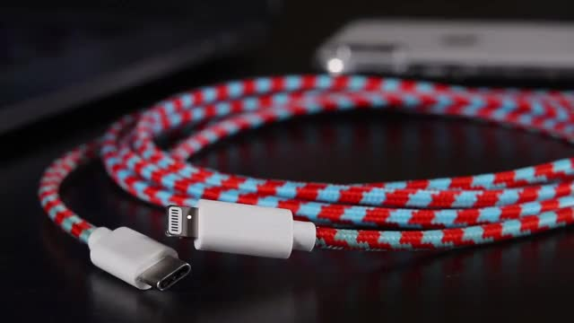 Watch and share Cascade Cables - Lightning To USB C Cables - Kickstarter Video GIFs on Gfycat
