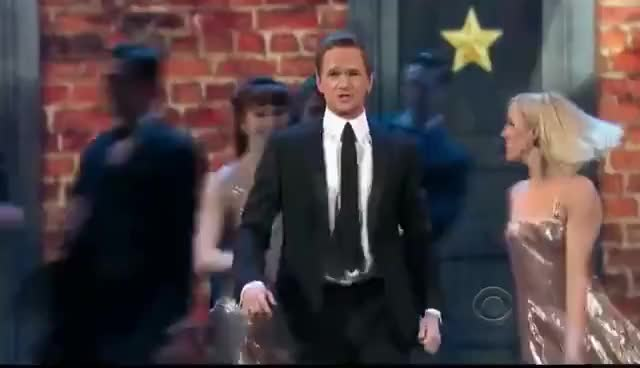 Watch NPH 7-second costume change GIF on Gfycat. Discover more Tony awards GIFs on Gfycat