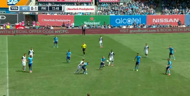 Watch and share NYC Play Past The Midfield GIFs by Evercombo on Gfycat