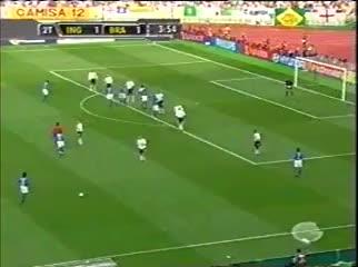 Watch Ronaldinho free kick vs. England World Cup 2002 GIF on Gfycat. Discover more brasil, brazil, ronaldinho GIFs on Gfycat