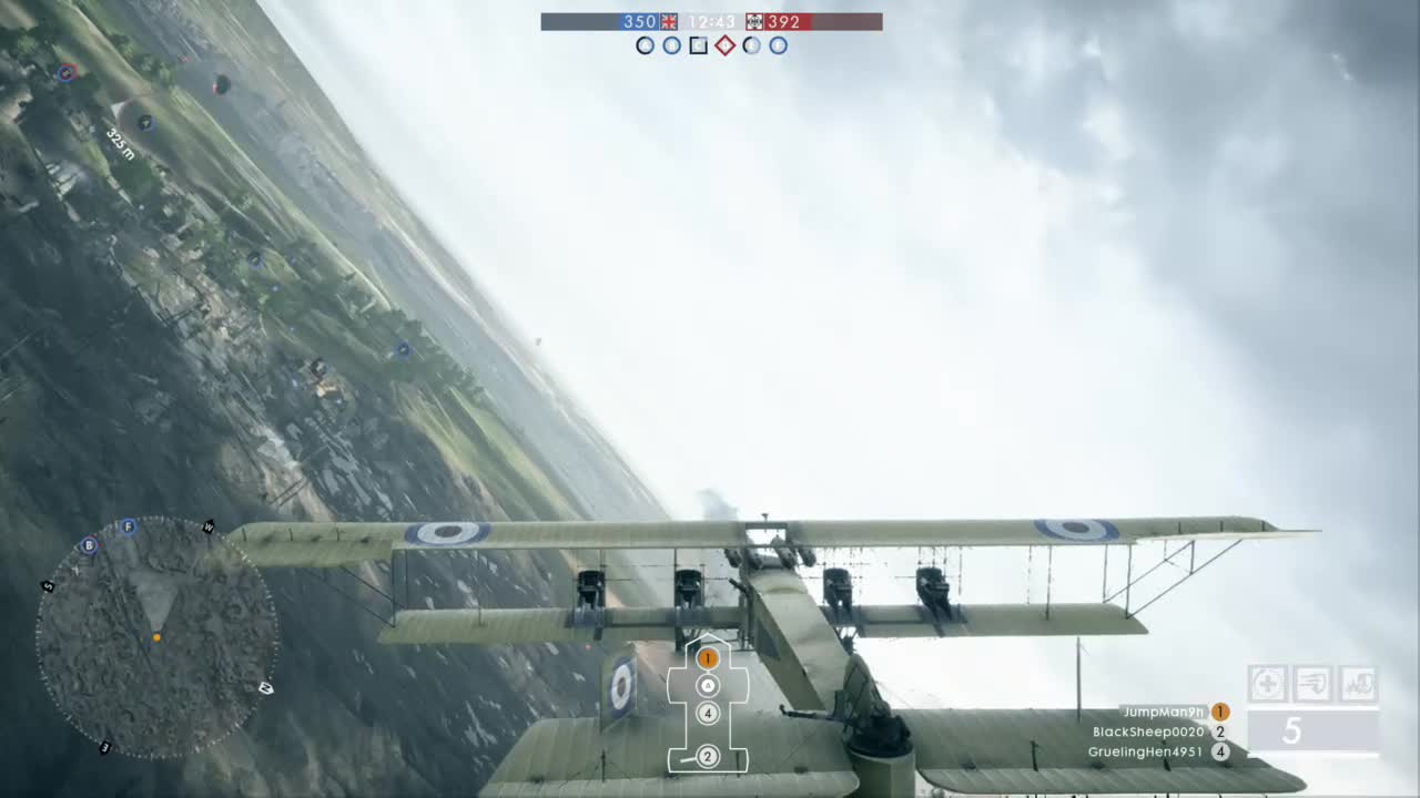 Battlefied one, Heavy Demolition bomber, Battlefield One Heavy Bomber GIFs