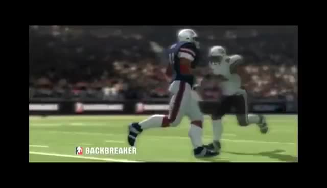 Watch laid out GIF on Gfycat. Discover more backbreaker, football, hard hit, quarterback, sack GIFs on Gfycat