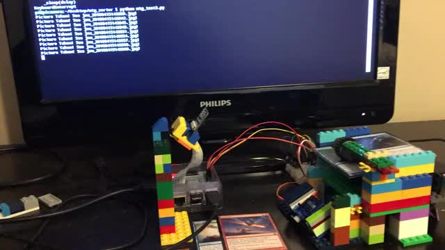 Watch MTG Card Organizer II GIF on Gfycat. Discover more Lego, MTG, Magic The Gathering, Rapsberry Pi, Servo GIFs on Gfycat