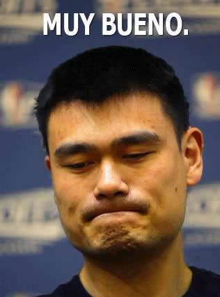 Watch and share Yao Ming GIFs on Gfycat