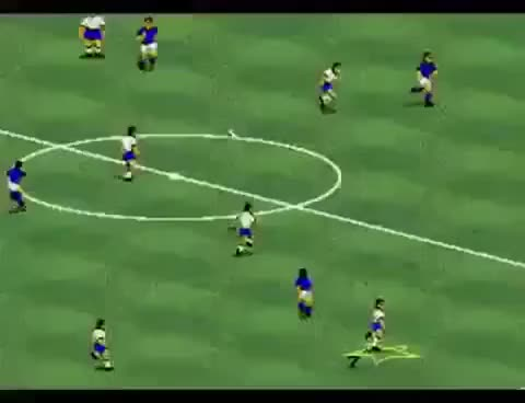 Watch and share FIFA International Soccer (fifa 94) Escape From Referee GIFs on Gfycat