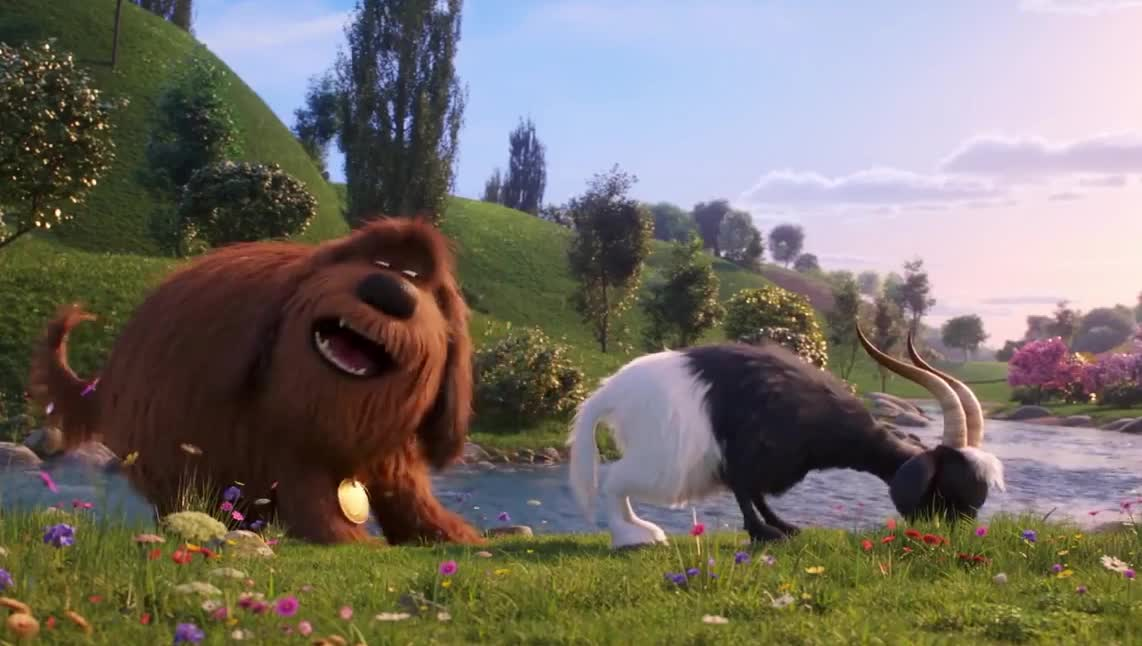 alone, ass, away, defend, dog, epic, funny, go, goat, kick, leave, life, lol, me, pets, scared, secret, smell, stop, wtf, The Secret Life of Pets 2 GIFs