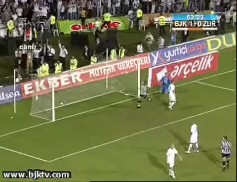 Watch Beşiktaş 2-0 Zurich GIF on Gfycat. Discover more related GIFs on Gfycat
