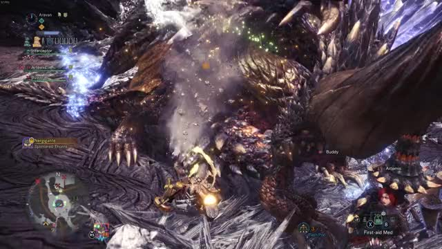 Watch vlc-record-2019-02-27-16h21m57s-Monster Hunter World 2019.02.26 - 21.48.29.03.DVR.mp4- GIF on Gfycat. Discover more monsterhunterworld GIFs on Gfycat