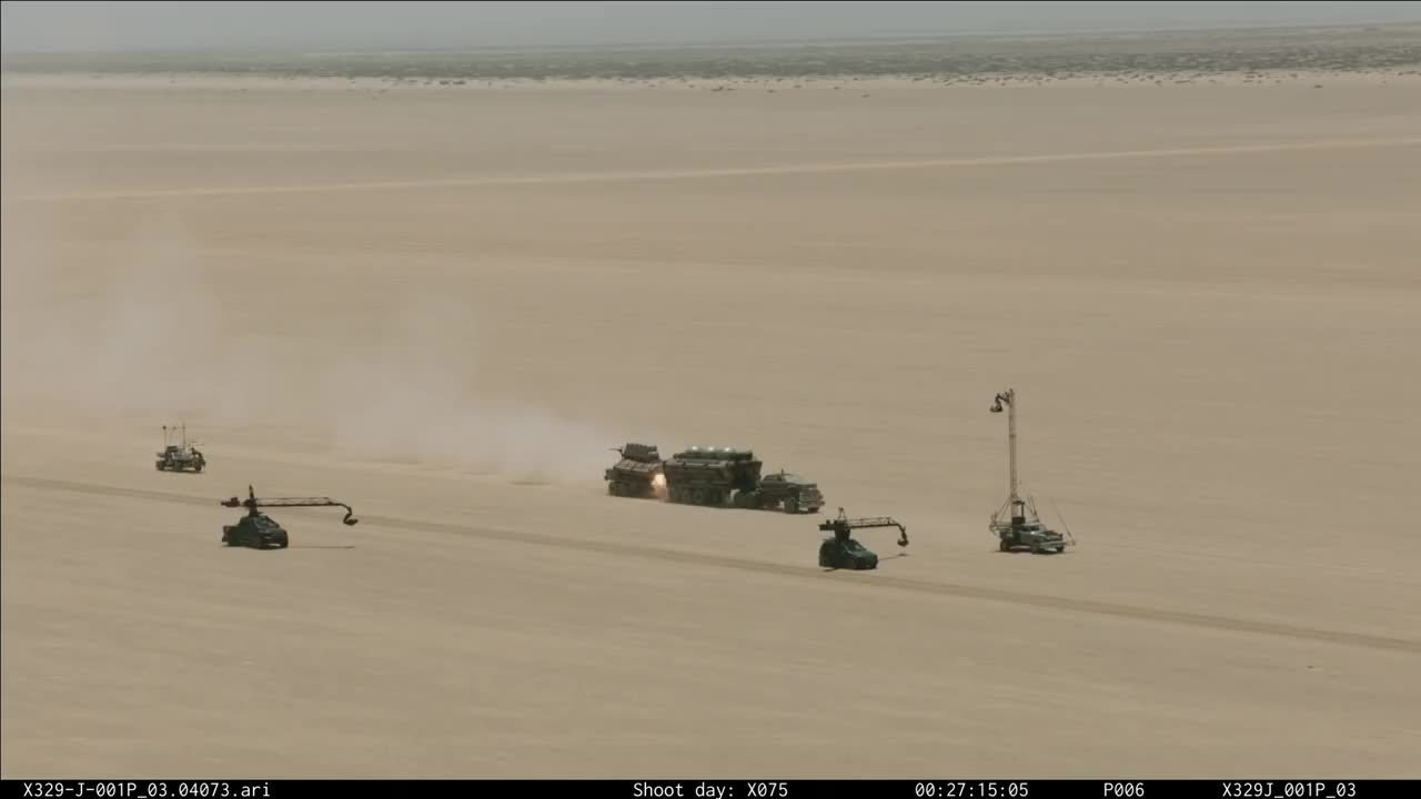 Moviesinthemaking, movies, The filming of the fuel truck explosion in Mad Max: Fury Road (reddit) GIFs