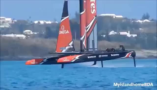 Watch and share Sailors Or Pilots Emirates Team New Zealand Set Sail! GIFs on Gfycat