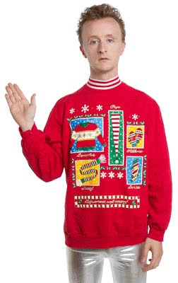 Watch gly Christmas shirts are not limited to only ugly Christmas GIF on Gfycat. Discover more related GIFs on Gfycat