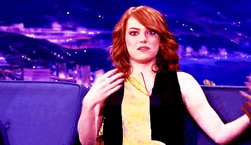 Watch and share Emmastone GIFs and Whatever GIFs by Reactions on Gfycat