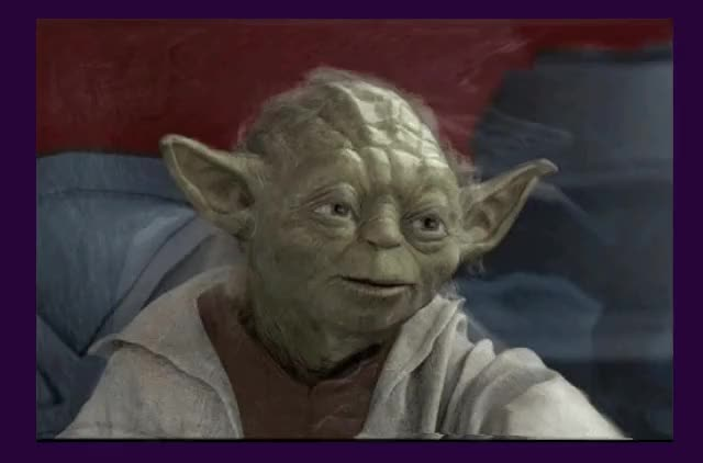 Watch and share Yoda GIFs on Gfycat