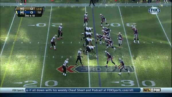tombradygifs, Brady making the Saints D-Line his bitches. (reddit) GIFs