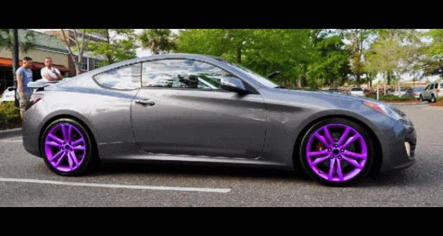 Watch and share GENESIS COUPE Wheel COlorizer GIFs on Gfycat
